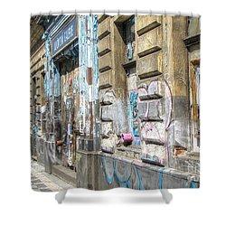 Praha Street Shower Curtain
