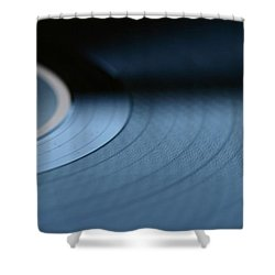 Record Shower Curtain