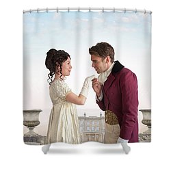 Regency Couple  Shower Curtain