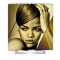 Rhianna Collection Shower Curtain by Marvin Blaine