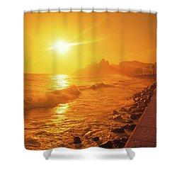Rio De Janeiro Brazil Shower Curtain
