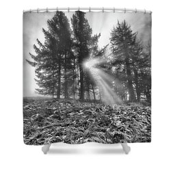 Shower Curtain featuring the photograph Scottish Sunrise by Jeremy Lavender Photography