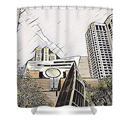 Sf Moma Shower Curtain