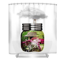 Somewhere Shower Curtain by Marvin Blaine