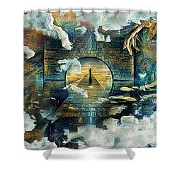Soul Journey Shower Curtain