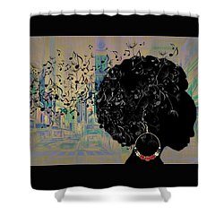 Sound Of Music Collection Shower Curtain by Marvin Blaine