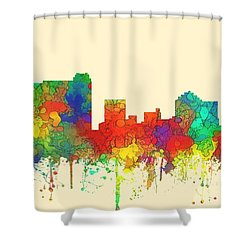 St Petersburg Florida Skyline Shower Curtain