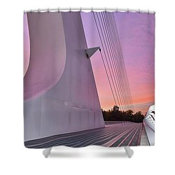 Sundial Bridge Shower Curtain