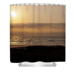Sunrise At Beach Shower Curtain
