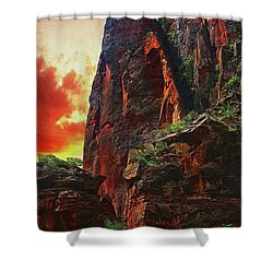 Sunrise In Canyonlands Shower Curtain