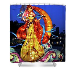 The 2017 Lantern Festival In Taiwan Shower Curtain by Yali Shi