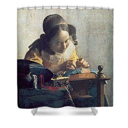The Lacemaker Shower Curtain