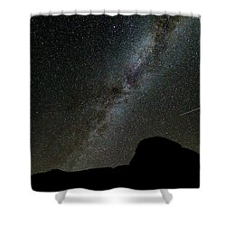 The Milky Way Shower Curtain by Jim Thompson