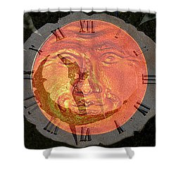 Time Time Time Shower Curtain by David Lee Thompson