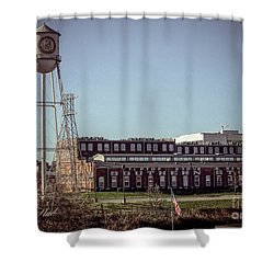 Shower Curtain featuring the photograph Tiptop Stoves by Melissa Messick
