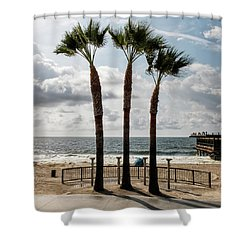 3 Trees Shower Curtain