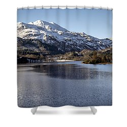 Trossachs Scenery In Scotland Shower Curtain