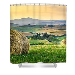 Tuscany Morning Shower Curtain