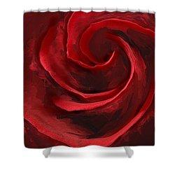 Unfurling Beauty I Shower Curtain