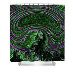 Unnamed Abstract Shower Curtain