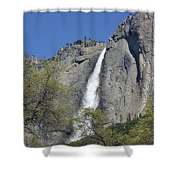 Upper Yosemite Falls Shower Curtain