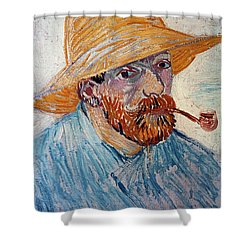 Vincent Van Gogh Shower Curtain by Granger