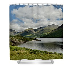 Wastwater Lake District Shower Curtain
