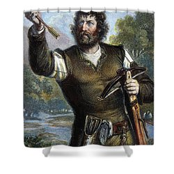 William Tell Shower Curtain by Granger
