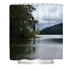 Yellowwood Lake I Shower Curtain