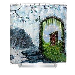 Passage Shower Curtain