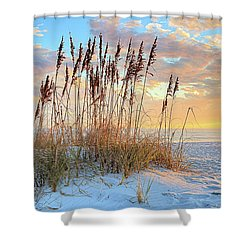30 A In South Walton Shower Curtain