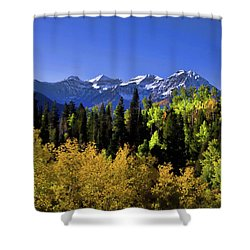 Autumn Splender Shower Curtain
