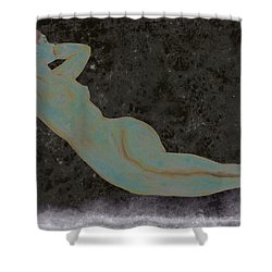 Nude Woman Shower Curtain