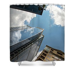 300 South Tryon Shower Curtain