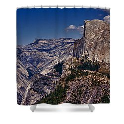 301 - Blue Skies Hdr Shower Curtain by Chris Berry