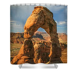 #3057 - Delicate Arch, Utah Shower Curtain