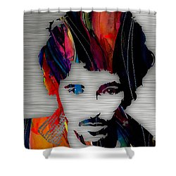 Bruce Springsteen Collection Shower Curtain by Marvin Blaine