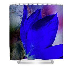Texture Flowers Shower Curtain