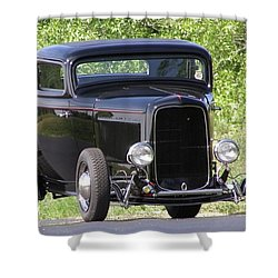 32 Three Window Classic  Shower Curtain