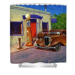 33 Studebaker  Shower Curtain