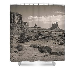 #3326 - Monument Valley, Arizona Shower Curtain
