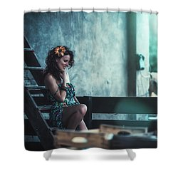 Shower Curtain featuring the photograph ... by Traven Milovich