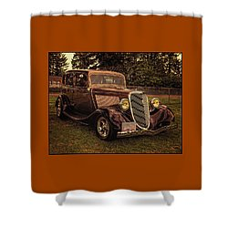 Cool 34 Ford Four Door Sedan Shower Curtain