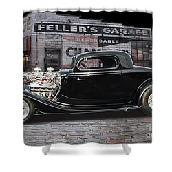 34 Ford Shower Curtain