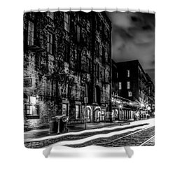 Savannah Georgia Waterfront And Street Scenes  Shower Curtain