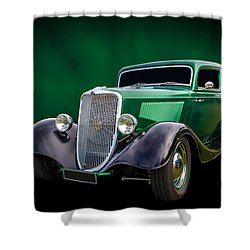 Shower Curtain featuring the photograph 34 Tudor by Keith Hawley