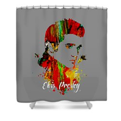 Elvis Presley Collection Shower Curtain