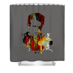 James Dean Collection Shower Curtain by Marvin Blaine