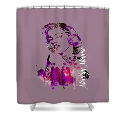 Marilyn Monroe Collection Shower Curtain by Marvin Blaine