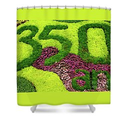 Shower Curtain featuring the photograph 350th Anniversary Of Lachine by John Rizzuto